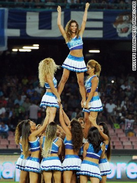 Over in Italy, Napoli's cheerleaders have had plenty to cheer about this season. Rafa Benitez's team have made a strong start in Serie A and are doing well in the Champions League.