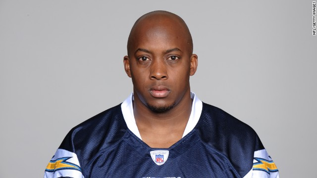 Paul Oliver, seen in his official team photo for the San Diego Chargers in 2010.
