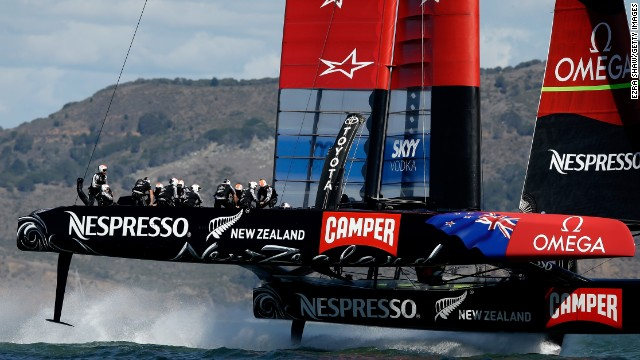 Emirates Team New Zealand, skippered by Dean Barker, took to the water hoping to turn around its nightmare run of form.