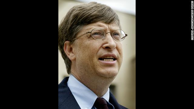 "Gates speaks at the U..S District Courthouse in Washington, D.C. after a 2002 hearing into Microsoft's violation of antitrust laws.Gates told an antitrust hearing that his company would ""be greatly devalued"" if a proposed antitrust remedy from a group of nine states was implemented."