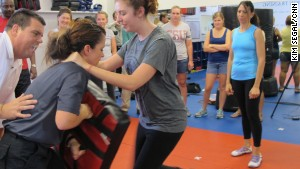 Educators learned self-defense technique in a recent training class in Lake Mary, Florida.\n