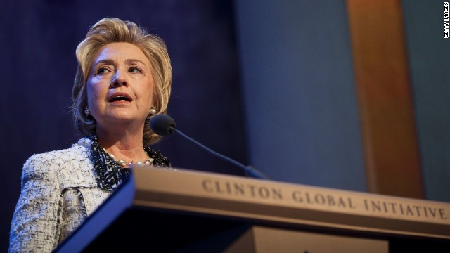 Hillary Clinton on link between elephants, terrorism