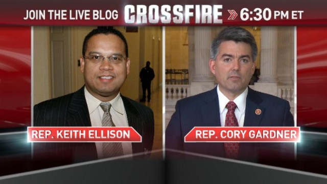 In the Crossfire: Reps. Ellison and Gardner
