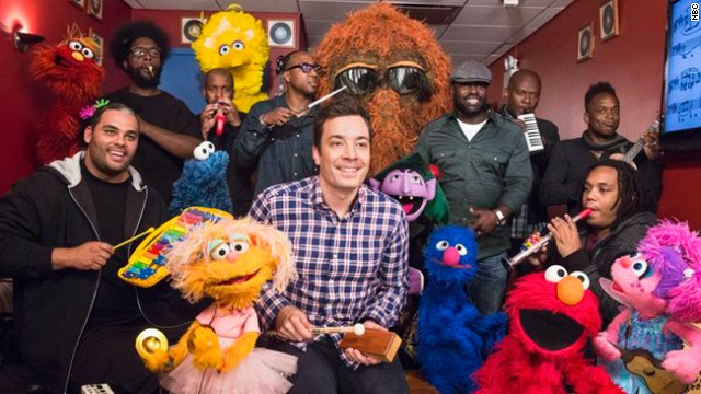 'Sesame Street' gets a 'Late Night' remix