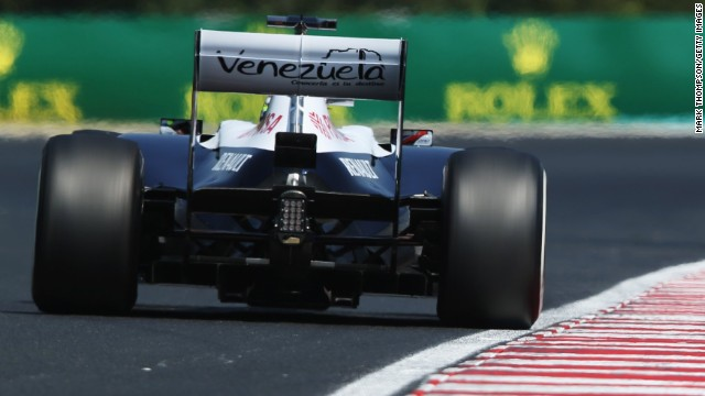 Venezuela is right behind Pastor Maldonado -- especially because the Latin American country's state oil company PDVSA funds his drive for the Williams F1 team.
