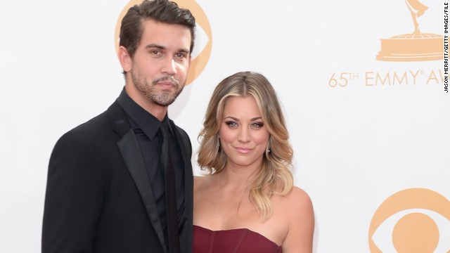 Kaley Cuoco's engagement began with a fight