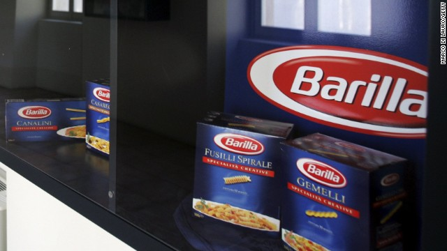 Barilla in hot water after exec's anti-gay remarks