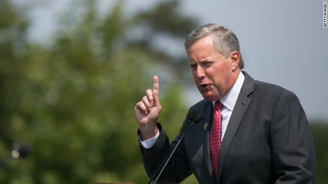 Rep. Mark Meadows: The architect of the government shutdown