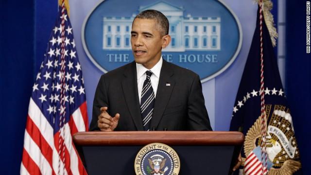 """Obama: """"Obamacare será implementado sin importar si hay presupuesto"""""""