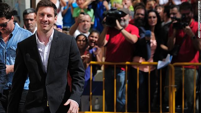 Investigadores de Hacienda en España desvinculan a Messi del presunto fraude fiscal