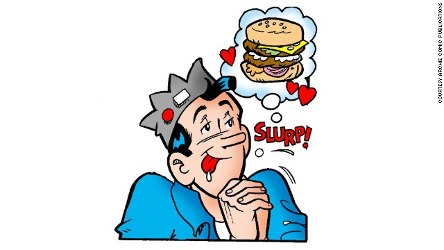 Jughead Jones is Archie's best friend and partner in tomfoolery, a slug of a guy whose character is built mainly around his voracious consumption of food. He's not the ladies' man that Archie tries to be, but he loves his big dog Hot Dog, likes to draw, is surprisingly smart and in later comics takes up skateboarding and video games.