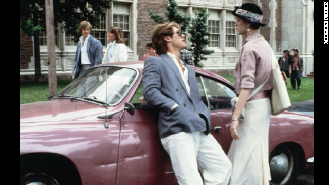 "James Spader played the classic rich slime ball Steff opposite Molly Ringwald in ""Pretty in Pink."""