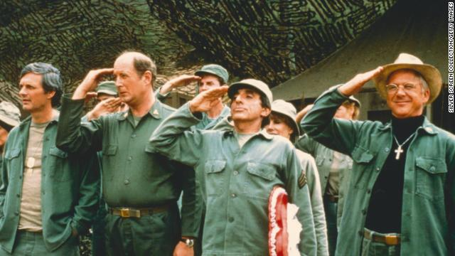 "A record audience watched the tearjerker of a finale for ""M*A*S*H"" in 1983, as the Korean War ended and everyone prepared to go their separate ways."