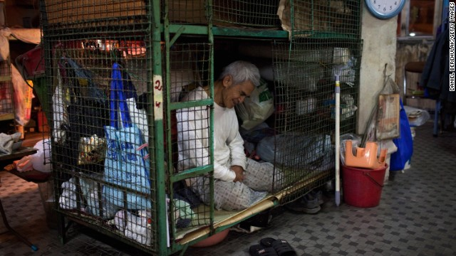 Hong Kong says up to a fifth of its population lives below the poverty line