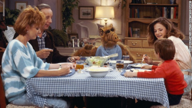 """ALF"" producers seemed to be overly confident that the alien sitcom would return for a fifth season, after they had ALF captured by the military in the finale, just before NBC canceled it. We wouldn't know what became of him for several years, when ABC picked up a <a href='http://www.alftv.com/projectalf.php' target='_blank'>TV movie</a>."