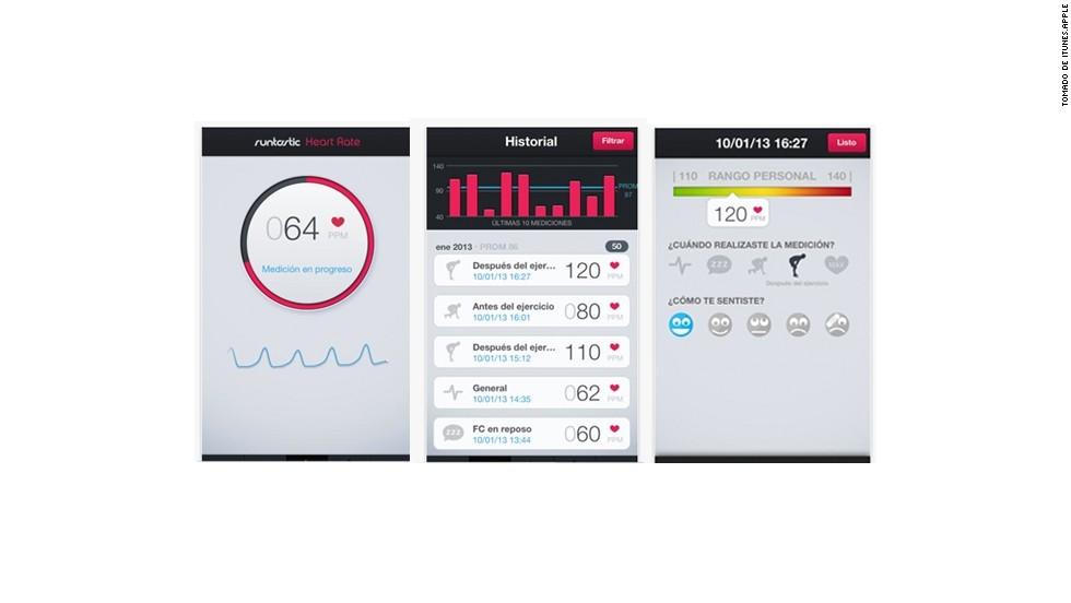Apps para que medir el ritmo de tu corazón