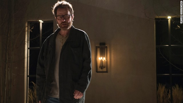"Best actor in a TV series, drama: Bryan Cranston, ""Breaking Bad"""