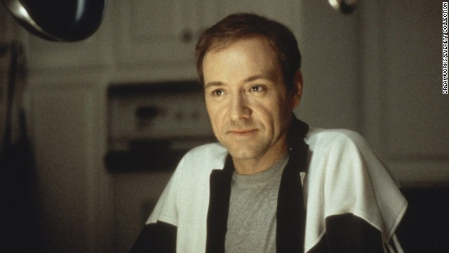"The death of Kevin Spacey's character Lester Burnham in the 1999 movie ""American Beauty"" is accompanied by poignant words at the end of the film."