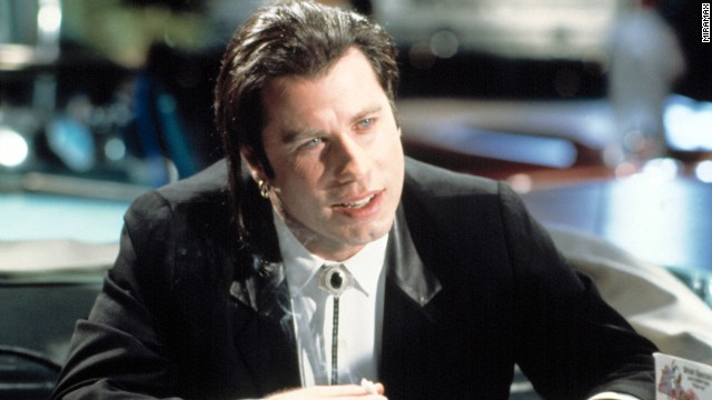 "The revival of John Travolta's career via playing hit man Vincent Vega in the 1994 film ""Pulp Fiction"" was almost as surprising as the way<a href='http://www.youtube.com/watch?v=qzPZOh2IfEc' target='_blank'> his character gets taken out</a> in that film. Toaster pastries, anyone?"