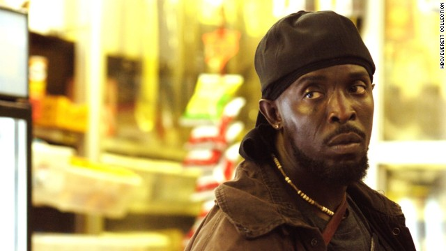 "Michael K. Williams plays Omar Little, who was a bit of a Robin Hood on the critically acclaimed series ""The Wire."" His death in season five was more shocking for the manner in which it happened than that it happened in the first place."