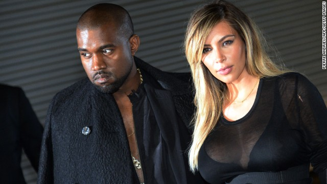 Kanye and Kim take Paris