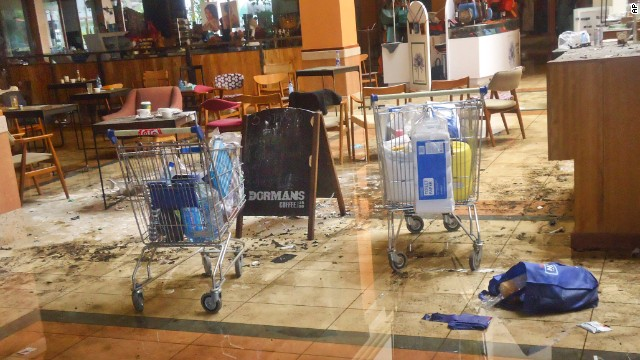 Photos: Westgate Mall after the carnage