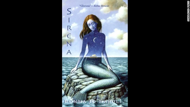 """Sirena,"" Donna Jo Napoli 's retelling of two tales from Greek mythology, is the bittersweet story of Greek warrior Philoctetes and the siren who defies her mythological mandate by falling in love with him."