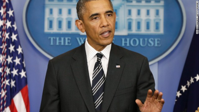 Transcript: Obama speaks on potential government shutdown
