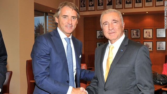 Former Inter Milan and Manchester City boss Roberto Mancini finds his next managerial appointment with Galatasary