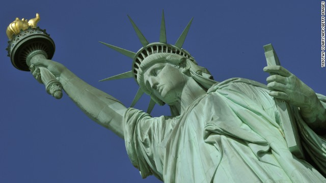 New York's Statue of Liberty, one of the United States' most recognizable symbols, is among the National Park Service sites affected by the federal government shutdown. This means Liberty Island, a national park, is closed to visitors too.