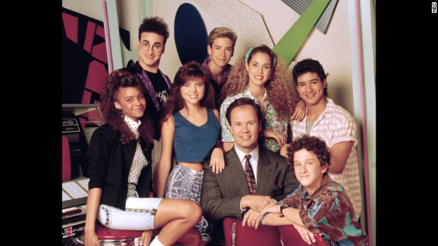 "Although ""Saved By the Bell"" got its start in 1989, the half-hour comedy helped define a generation and is still<i> </i>popular in syndication. We don't care <a href='http://celebritybabies.people.com/2013/09/30/mark-paul-gosselaar-welcomes-son-dekker-edward/' target='_blank'>how many kids Mark-Paul Gosselaar has</a> or <a href='http://remotecontrol.mtv.com/2013/09/27/mario-lopez-elizabeth-berkley-extra-saved-by-the-bell-trivia/' target='_blank'>how many hosting gigs Mario Lopez picks up</a>, they're both eternally Zack and Slater to us. (Same goes for you, Elizabeth ""I'm so excited!"" Berkley.)"