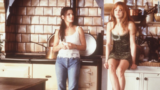 "Also in 1998, Bullock and Nicole Kidman star as witches in the film ""Practical Magic."""