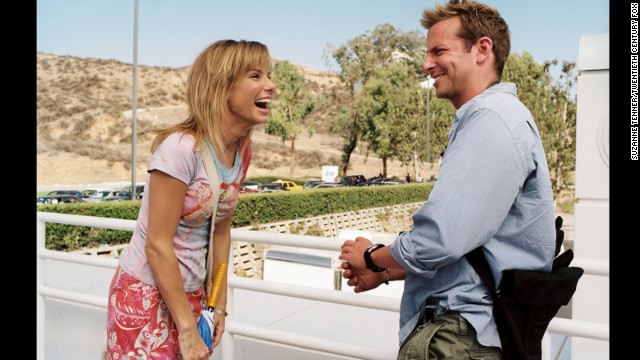 Mary Horowitz (Bullock) thinks she's in love with cable news cameraman Steve (Bradley Cooper) in the 2009 film