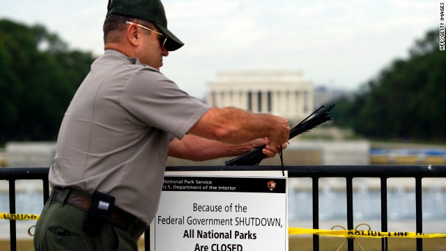Shutdown 1st day: Furloughs for many, some jobs are saved
