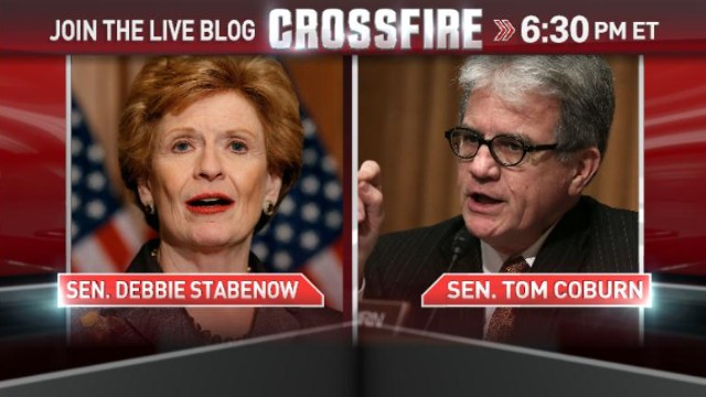 In the Crossfire: Sens. Stabenow & Coburn