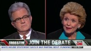 Coburn vs. Stabenow on shutdown