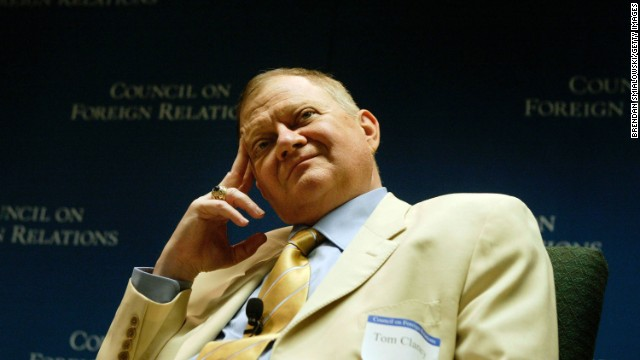 American author Tom Clancy died October 2, according to a family member. He was 66.