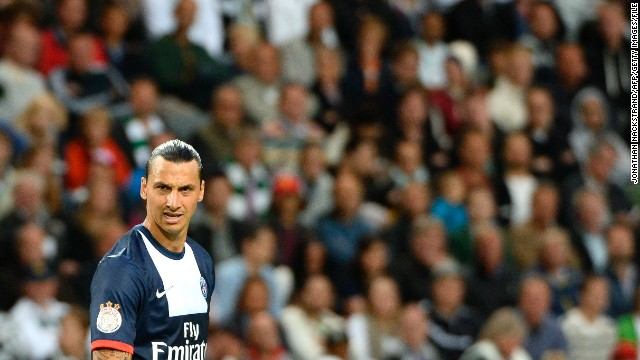 Since arriving in Paris, the mercurial striker has become a symbol of PSG's new elite status. Ibrahimovic finished as the top goalscorer in France as PSG secured the 2012-13 league title. His penchant for scoring jaw-dropping goals, and his often outspoken approach, has made him a cult figure among football fans the world over. Ibrahimovic is one of the nominees for the 2013 Ballon d'Or, an award given to the best player on the planet.