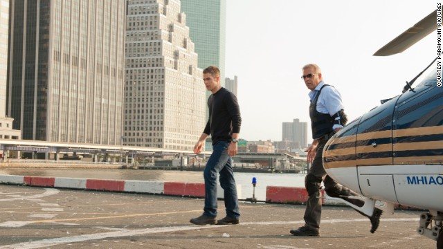 "Paramount's upcoming feature film ""Jack Ryan"" will feature Chris Pine, pictured left, as the title character and Kevin Costner, right. The movie is set to debut in late 2013."