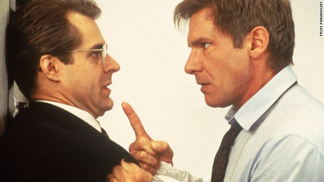 """Clear and Present Danger,"" released in 1994, once again features Harrison Ford as Jack Ryan who is this time working to thwart a Colombian drug cartel."