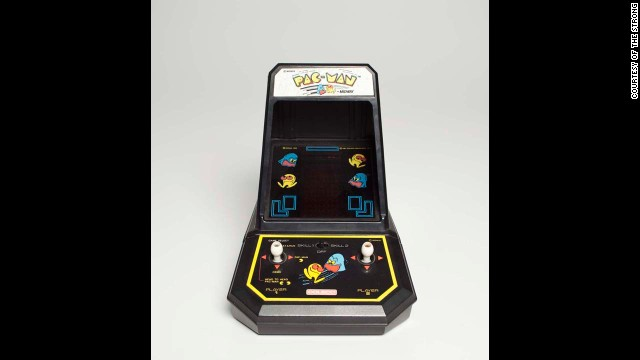 The character Pac-Man was one of 12 finalists up for induction in the National Toy Hall of Fame.