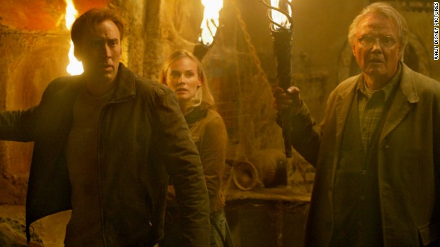 "No Smithsonian? Talk about a bummer. But your hankering for artifacts can be appeased with the 2004 film ""National Treasure"" starring Nicolas Cage, Diane Kruger and Jon Voight."