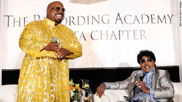 Little Richard praises Blake Shelton to CeeLo Green