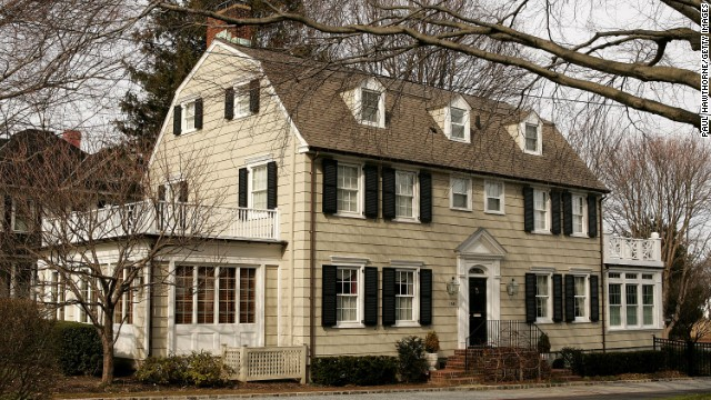 High Hopes: Built 1924 in Amityville, New York, this Dutch colonial revival home gained a haunted reputation after <a href='http://www.amityvillemurders.com/ ' target='_blank'>Ronald DeFeo Jr. killed his entire family</a> there in 1974.
