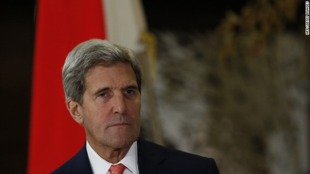 Kerry: U.S. ties with Egypt 'vital'