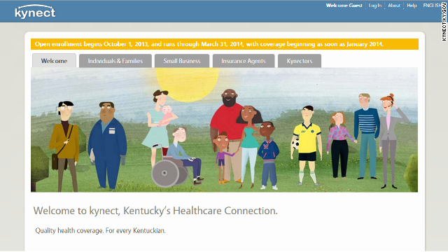 Kentucky offers a positive glimpse at Obamacare numbers