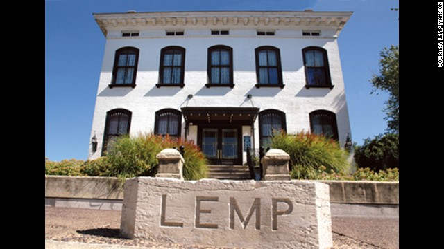 Lemp Mansion: Built in 1868 in St. Louis. This Italianate Victorian was the Lemp family home, where four family members <a href='http://www.lempmansion.com/hauntedhistory.htm' target='_blank'>committed suicide</a>.