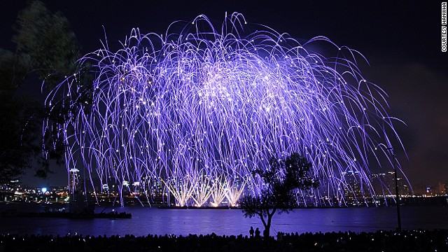 The 2013 festival will showcase multimedia works by fireworks design teams from Canada, Japan, France and South Korea.