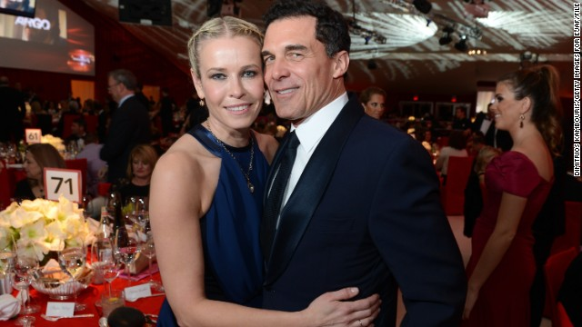 "Chelsea Handler confirmed on her show, ""Chelsea Lately,"" that she was once again single after dating André Balazs on and off for two years. ""Maybe I'll start dating a (woman),"" Handler said during her October interview with friend Mary McCormack."