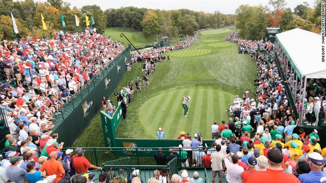 Estados Unidos vence de nuevo en la tercera jornada de la Presidents Cup de golf